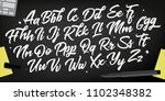 decorative alphabet vector font.... | Shutterstock .eps vector #1102348382