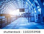 urban rail transit light rail... | Shutterstock . vector #1102353908