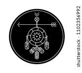 black circle. design element...   Shutterstock .eps vector #1102356992