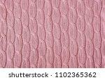 pale pink  knitting wool... | Shutterstock . vector #1102365362