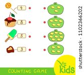 educational mathematics game... | Shutterstock .eps vector #1102366202