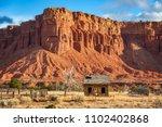 american southwest desert... | Shutterstock . vector #1102402868