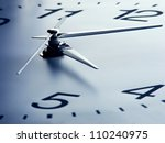 Clock Face With Focus On Center....
