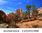 bryce canyon  | Shutterstock . vector #1102431488