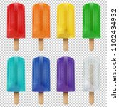 collection of vector realistic... | Shutterstock .eps vector #1102434932