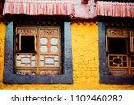 jokhang temple tibetan buddhism ... | Shutterstock . vector #1102460282