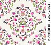 classic otoman turkish style... | Shutterstock .eps vector #1102465025