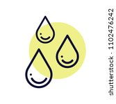 drip drops  rain  liquid ... | Shutterstock .eps vector #1102476242