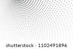 halftone dots  radial gradient... | Shutterstock .eps vector #1102491896