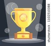 tennis sports awards premium... | Shutterstock .eps vector #1102510388