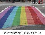 vancouver  canada's davie...   Shutterstock . vector #1102517435