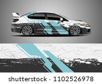 car decal vector  graphic... | Shutterstock .eps vector #1102526978