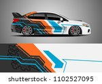 car decal vector  graphic... | Shutterstock .eps vector #1102527095