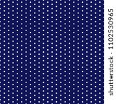 navy blue polka dots seamless... | Shutterstock .eps vector #1102530965