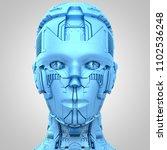 3d rendering  robotics and... | Shutterstock . vector #1102536248