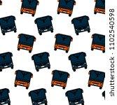color front city bus transport...   Shutterstock .eps vector #1102540598