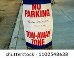 A Street Sign Posted On The...