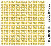set of smile icons. emoji.... | Shutterstock .eps vector #1102554902