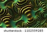 patterned 3d fractal   fairy... | Shutterstock . vector #1102559285