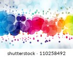 Abstract On A Colorful...
