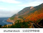 glorious autumn colours on the ... | Shutterstock . vector #1102599848