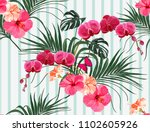 beautiful seamless vector... | Shutterstock .eps vector #1102605926
