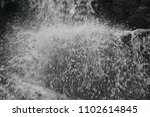 white water splashing. heavy... | Shutterstock . vector #1102614845