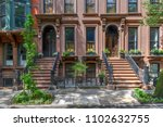 Brownstone Building In Brookly...