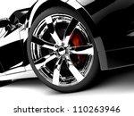 a generic sport elegant black... | Shutterstock . vector #110263946