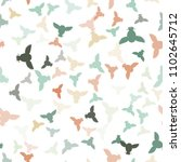 seamless vector pattern with... | Shutterstock .eps vector #1102645712
