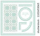 vintage border seamless pattern ... | Shutterstock .eps vector #1102653065