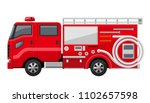 working car  fire engine | Shutterstock .eps vector #1102657598