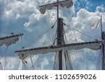 photograph of caravel type 15th ... | Shutterstock . vector #1102659026