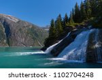 sawyer glacier cruise   Shutterstock . vector #1102704248