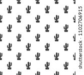tall cactus icon. simple... | Shutterstock .eps vector #1102706915