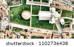square of miracles in pisa with ... | Shutterstock . vector #1102736438