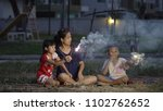 asian family  mother  son and...   Shutterstock . vector #1102762652
