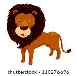 cartoon lion vector
