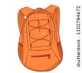 vector single cartoon small... | Shutterstock .eps vector #1102784672