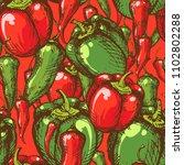 seamless vintage style pattern... | Shutterstock .eps vector #1102802288