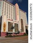 Small photo of Shreveport, Louisiana - February 18, 2012: Eldorado Hotel and Casino located in Shreveport Louisiana nar the Red River