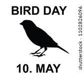bird day  world bird day | Shutterstock .eps vector #1102826096