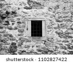 Old Prison Jail Window With...