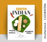 authentic south indian cook... | Shutterstock .eps vector #1102840586