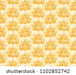 abstract background with flame.  | Shutterstock .eps vector #1102852742