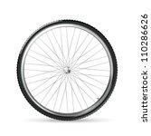 bicycle wheel  vector | Shutterstock .eps vector #110286626