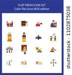 nineteen legal service flat... | Shutterstock .eps vector #1102875038
