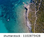 aerial view of the path of... | Shutterstock . vector #1102875428