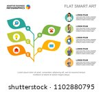 business growth slide template. ... | Shutterstock .eps vector #1102880795