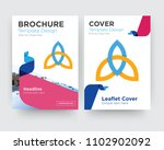 holy trinity brochure flyer... | Shutterstock .eps vector #1102902092